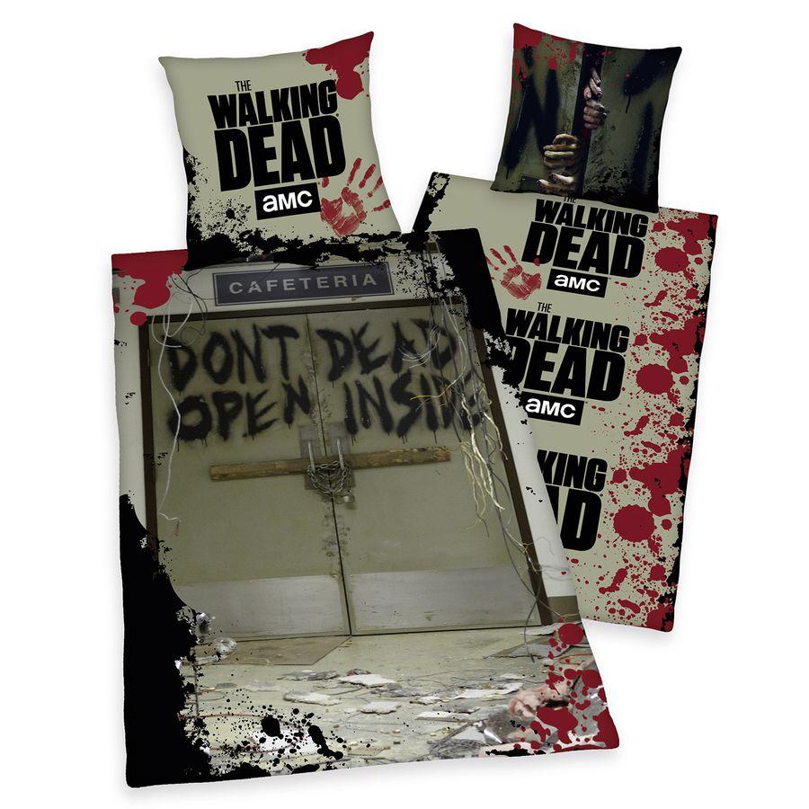 the walking dead bettw sche dont open dead inside. Black Bedroom Furniture Sets. Home Design Ideas