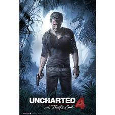 Uncharted 4 Poster -