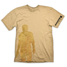 "Uncharted 4 ""Nathan Drake - Map"" T-Shirt"