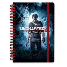 Uncharted 4 Notizbuch DIN A5