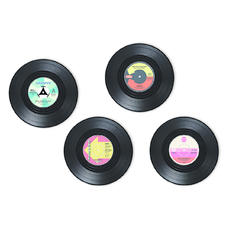 Record Coaster set -