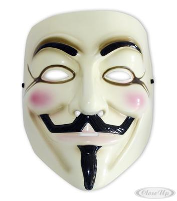 V for Vendetta Maske Guy Fawkes Anonymous