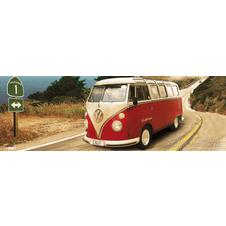 VW Bus Transporter Poster