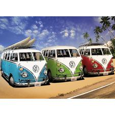 VW Bus Transporter XXL Poster