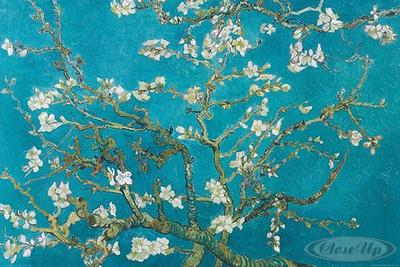 Vincent Van Gogh Poster Mandelblüten, 1890