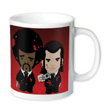 Vincent and Jules Coffee Mug