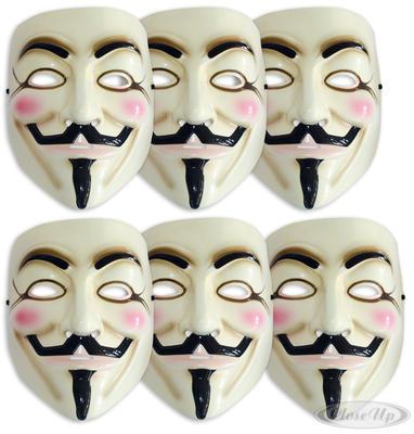 V For Vendetta Bundle 6 Masken zum Preis von 5