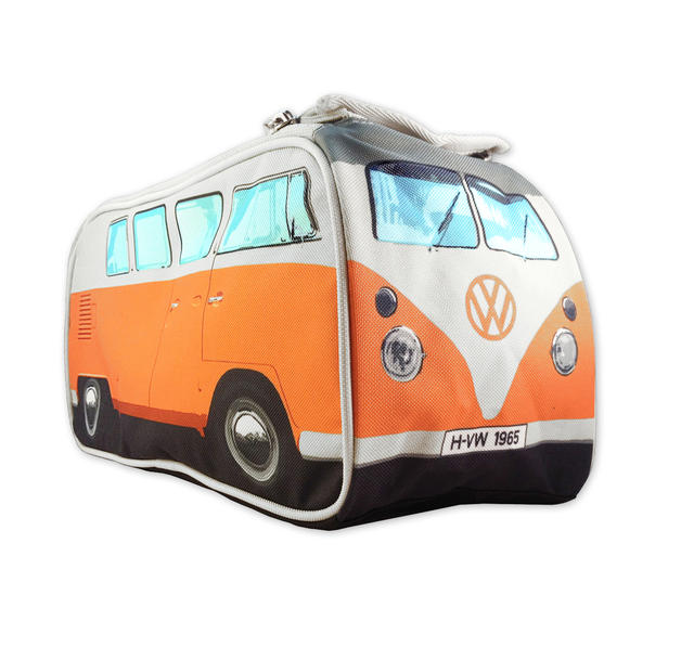 vw bulli kulturbeutel in orange im fanshop kaufen. Black Bedroom Furniture Sets. Home Design Ideas