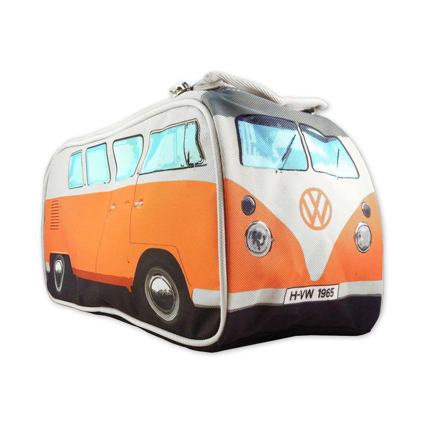 vw bulli kulturbeutel in orange im fanshop kaufen. Black Bedroom Furniture Sets. Home Design Ideas
