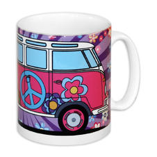 VW Camper Tasse Hippie Bus