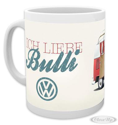 VW Camper Tasse Ich liebe Bulli