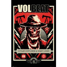 Volbeat Poster Outlaw