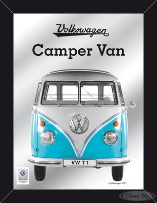 VW XL Spiegel Bulli T1 VW Lizenz Wandspiegel