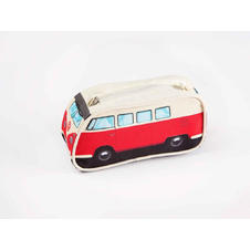 VW Bulli Pencil case Red