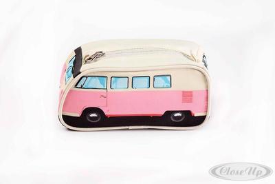 VW Bulli Stiftemäppchen Pink Pencil Case