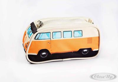 VW Bulli Stiftemäppchen Orange Pencil case