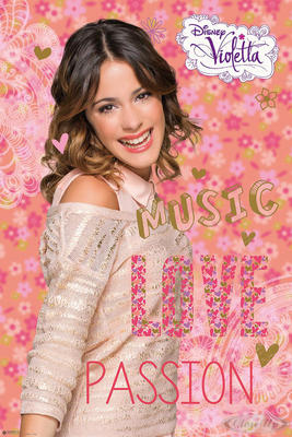 Violetta Poster Music Love Passion