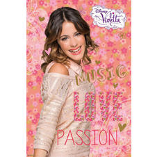 Violetta Poster - Music Love Passion