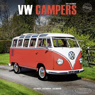 VW Bus Kalender Camper 2017 Bulli