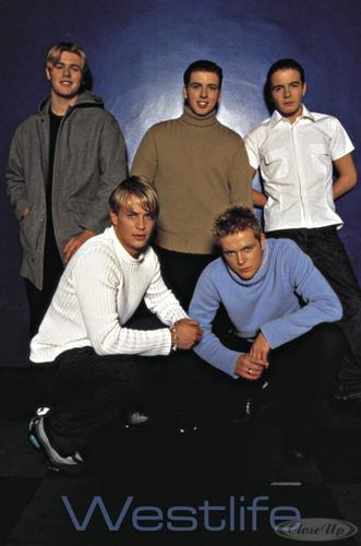 Westlife Poster
