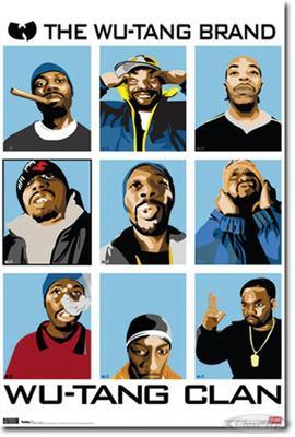 Wu-Tang Clan Poster The Wu-Tang Brand