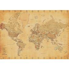 World map XXL Poster