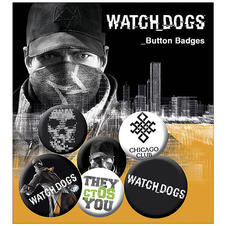 Watch Dogs Buttons