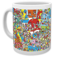 Where's Wally Tasse Clown