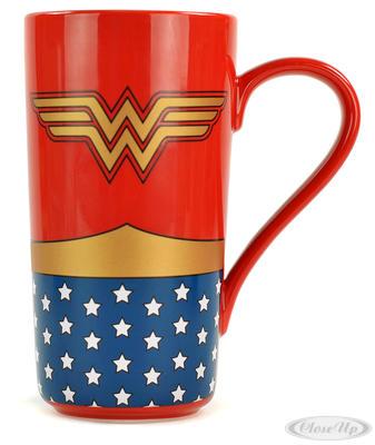 Wonder Woman Tasse Logo Latte Macchiato Tasse