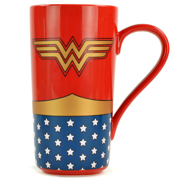 wonder woman latte macchiato tasse bei close up im fan store kaufen. Black Bedroom Furniture Sets. Home Design Ideas