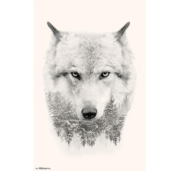 Wolf Poster Trees