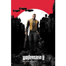 Wolfenstein 2 Poster The New