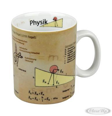 Wissensbecher Physik Mugs of Knowledge