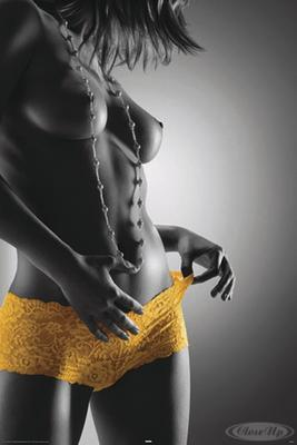 Yellow Hotpants Poster