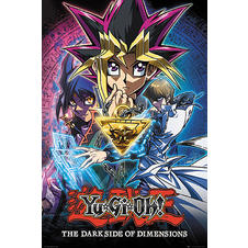 Yu-Gi-Oh The Darkside of Dimensions Poster -