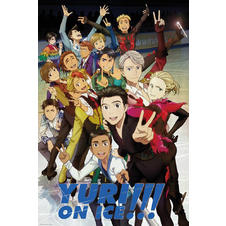 Yuri on Ice Poster Charaktere