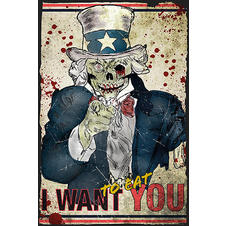 Zombie Poster Uncle Sam