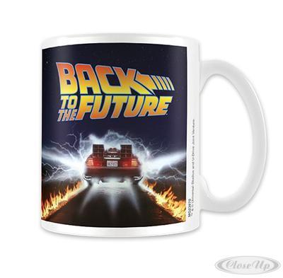 Zurück in die Zukunft Tasse Delorean