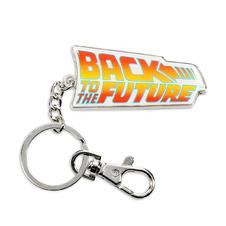 Back to the Future Keyring -