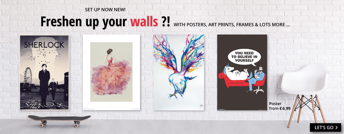 Freshen up your walls?!