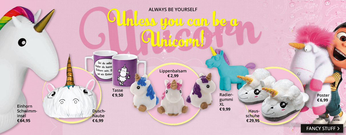 Unicorns have fun!