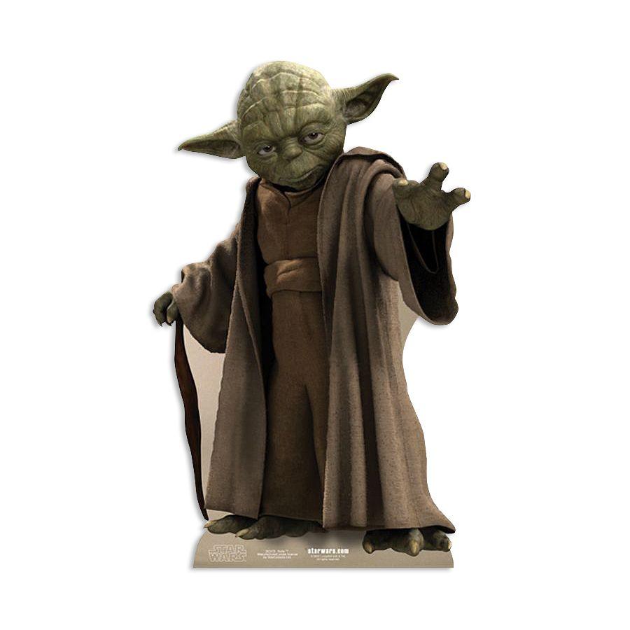 Star Wars Pappaufsteller Yoda - Pappaufsteller jetzt im Shop ...