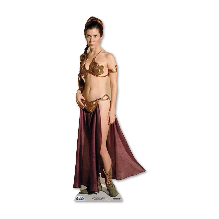 Star Wars Pappaufsteller Prinzessin Leia Sklavenmadchen