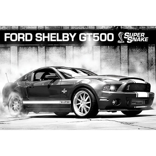 Ford Mustang Poster