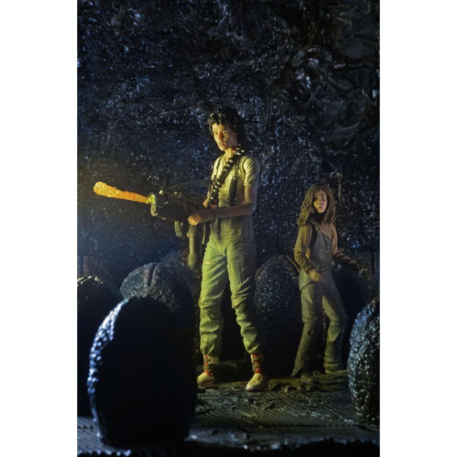 Alien Actionfiguren Set Ripley und Newt