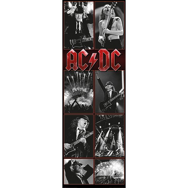 AC/DC Live Montage Poster