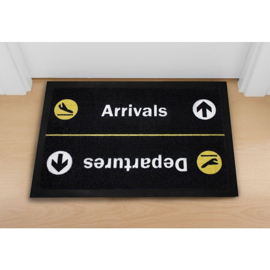 arrivals departures fu matte. Black Bedroom Furniture Sets. Home Design Ideas