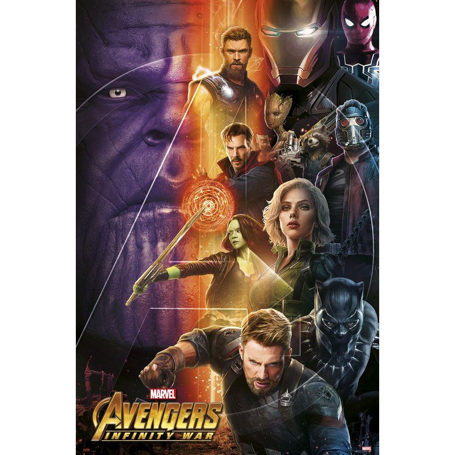 avengers infinity war poster charaktere 1 - poster großformat jetzt