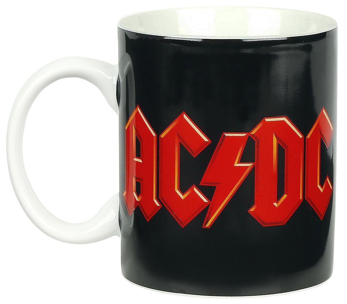 AC//DC Kaffeebecher Live Wärme wechselnde schwarz
