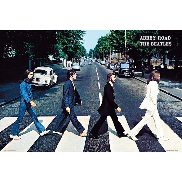 Beatles Poster Abbey Road